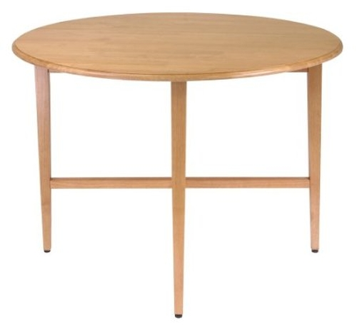 42-Inch Round Drop Leaf Table by Winsome Wood in St. Vincent