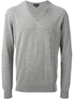 V-Neck Sweater by Lanvin in That Awkward Moment