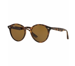 Round Sunglasses by Ray-Ban in Guilt