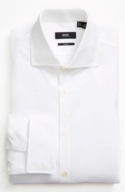 Slim Fit Dress Shirt by Boss Hugo Boss in The Devil Wears Prada