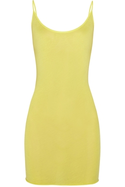 Pima Cotton-Jersey Tank Top by Enza Costa in Spring Breakers