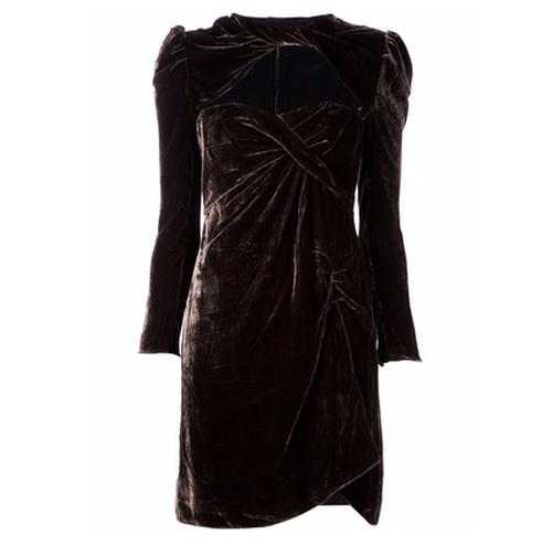 Long Sleeve Draped Dress by Carven in Gossip Girl - Series Looks