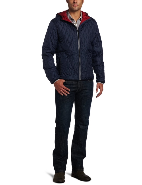 Lightweight Davos Quilted Hooded Jacket by Victorinox in Eddie The Eagle