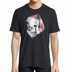 Santa Skull Graphic T-Shirt by Robert Graham in The Flash