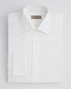Herringbone Dress Shirt by Canali in Unfinished Business