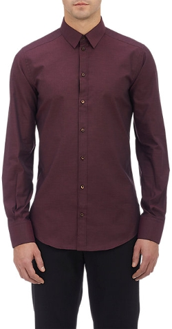 End-On-End Slim Shirt by Dolce & Gabbana in The Transporter: Refueled