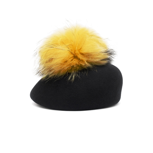 Wool Felt Blocked Beret by Eugenia Kim in Scream Queens - Season 1 Episode 9