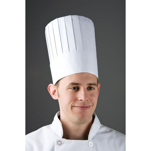 Fluted Disposable Chef Hat by WebstaurantStore in The Hundred-Foot Journey