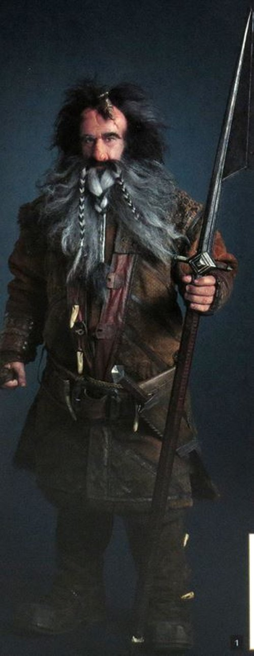 Custom Made Bifur Costume by Ann Maskrey & Bob Buck (Costume Designer) in The Hobbit: The Battle of The Five Armies