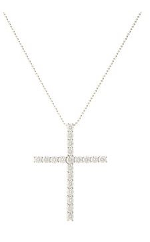 Swarovski Zirconia 2ct Total Cross Pendant Necklace by Dee Berkley in Pitch Perfect 2