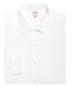 Madison Fit Spread Collar Dress Shirt by Brooks Brothers in Bridge of Spies