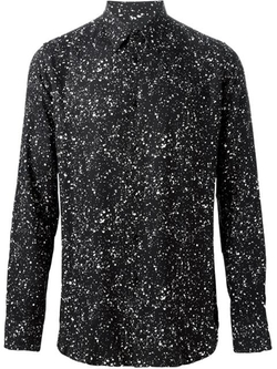 Paint Splatter Shirt by Saint Laurent in Empire