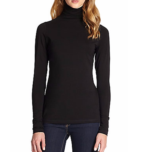 Favorite Turtleneck Tee by Vince in The Boss