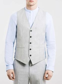 Suit Vest by Topman in Victor Frankenstein