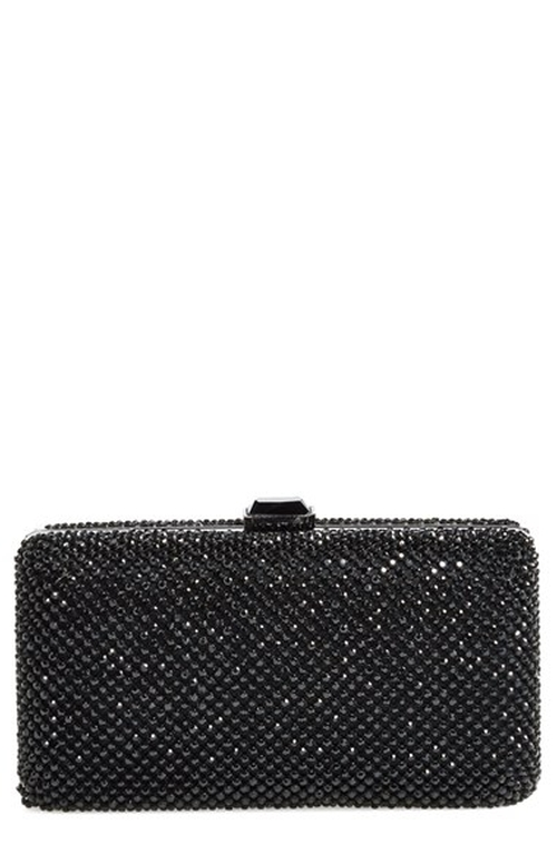 Crystal Mesh Box Clutch Bag by Sondra Roberts in We Are Your Friends