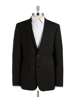 Two-Button Blazer by Calvin Klein in Elementary