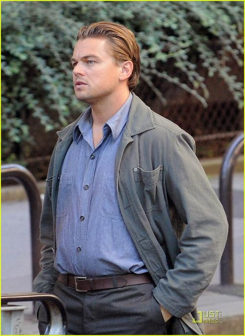 Custom Made Trench Coat by Jeffrey Kurland (Costume Designer) in Inception