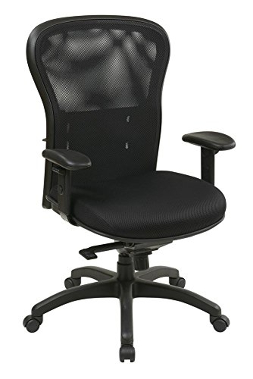 Mesh Screen Back And Mesh Seat Manager Chair by Office Star in The Longest Ride