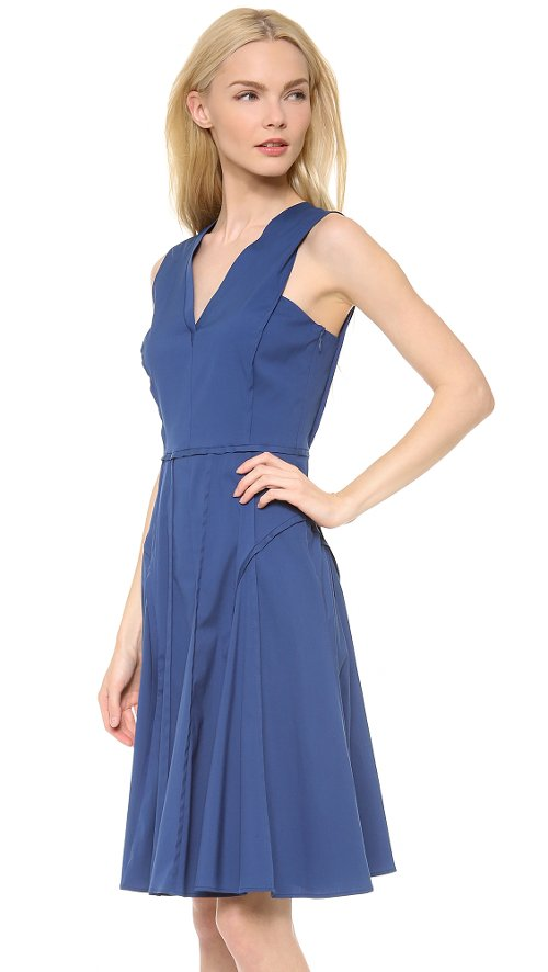 Sleeveless Dress With Full Skirt by Derek Lam in The Best of Me