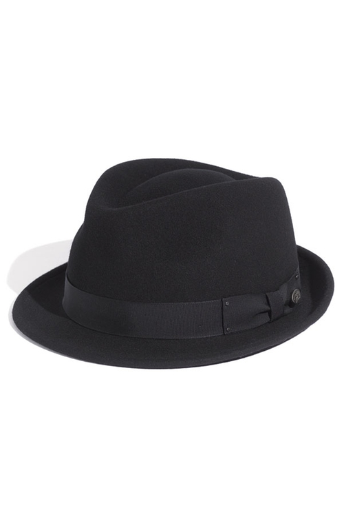 'Wynn' Packable Fedora Hat by Bailey in Dr. No