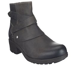 Leather Strap Ankle Boots by Clarks Artisan in If I Stay
