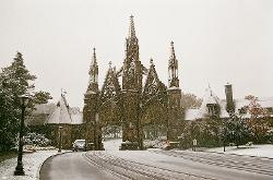 New York City, New York by Green-Wood Cemetery in A Walk Among The Tombstones