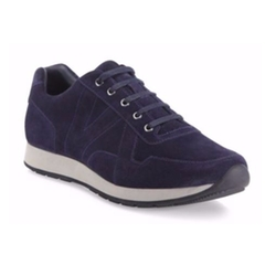 Percy Italian Calf Suede Athletic Sneakers by Vince in The Circle