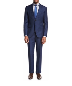 Textured Wool Two-Piece Suit by Hugo Boss in Empire