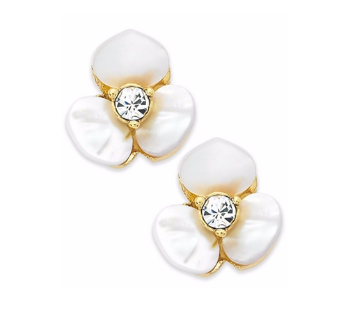 Flower Stud Earrings by Kate Spade New York in The Boss