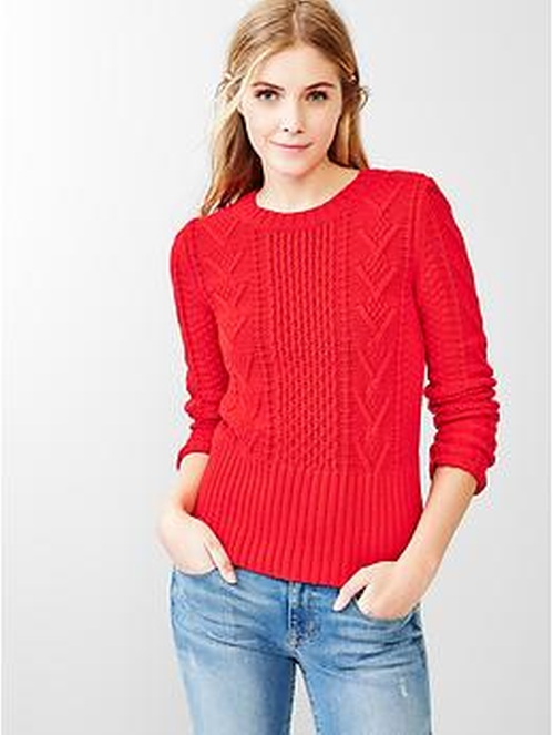 Cable Knit Sweater by Gap in Paddington
