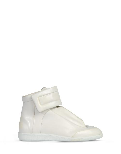 Leather Future High Top Sneakers by Maison Martin Margiela in The Hunger Games: Mockingjay Part 1