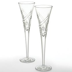 Crystal Achievements Flute Glass by Waterford in The Counselor