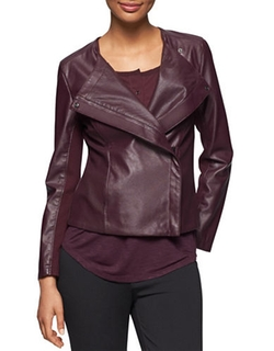 Faux Leather Moto Jacket by Calvin Klein Jeans in American Horror Story