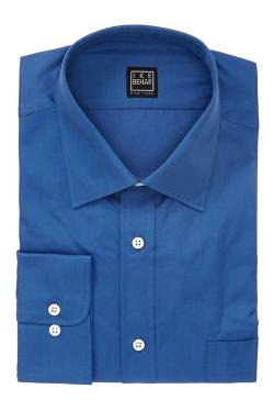 Black Label Solid Crosby Button Front Dress Shirt by Ike Behar in Neighbors