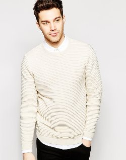 Ribbed Sweater by ASOS in The Best of Me