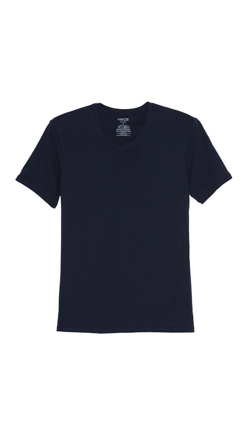 V Neck Tee by Vince in Beyond the Lights