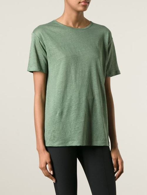 Crew Neck T-Shirt by T by Alexander Wang in Poltergeist