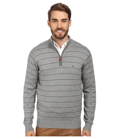 Mill River 1/4 Zip Sweater by Vineyard Vines in If I Stay