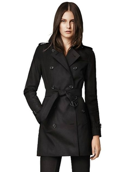 Kensington Mid-Length Heritage Trench Coat by Burberry London in Suits
