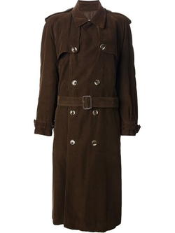 Classic Trench Coat by Yves Saint Laurent Vintage in The Women