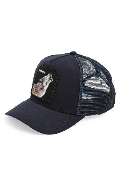 'Animal Farm - Wolf' Trucker Cap by Goorin Brothers in Cut Bank