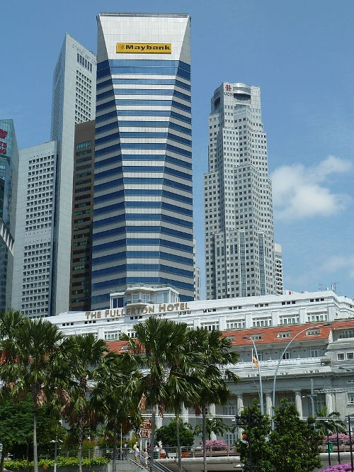 Maybank Tower 2 Battery Road, Raffles Place, Singapore in Hitman: Agent 47