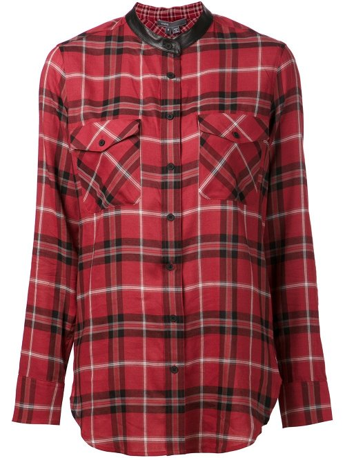 Plaid Shirt by Vince in That Awkward Moment
