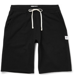Loopback Cotton-Jersey Shorts by Reigning Champ in Ballers