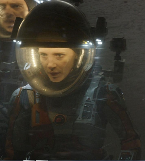Custom Made Astronaut Suit (Melissa) by Janty Yates (Costume Designer) in The Martian
