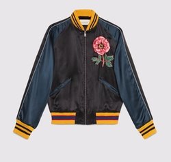 Silk Bomber Jacket by Gucci in Keeping Up With The Kardashians