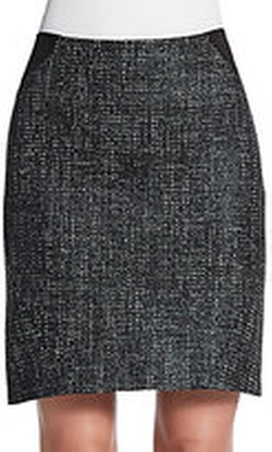 Joon Tweed Colorblock Pencil Skirt by T Tahari in How To Get Away With Murder