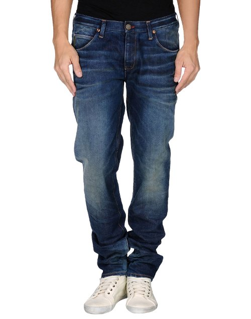 Washed Denim Pants by Armani Jeans in The Gunman