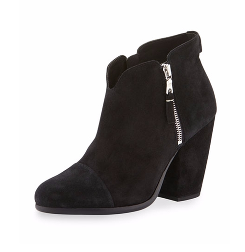 Margot Suede Ankle Boots by Rag & Bone in Pretty Little Liars - Season 7 Episode 10