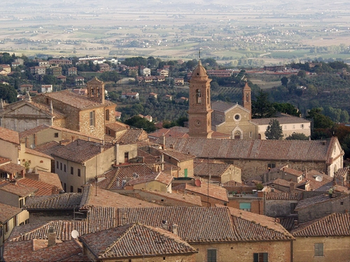 Duomo di Montepulciano Southern Tuscany, Italy in The Twilight Saga: Breaking Dawn - Part 2